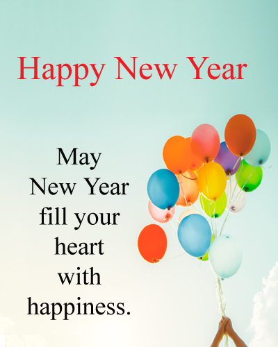 Happy New Year Wishes DP