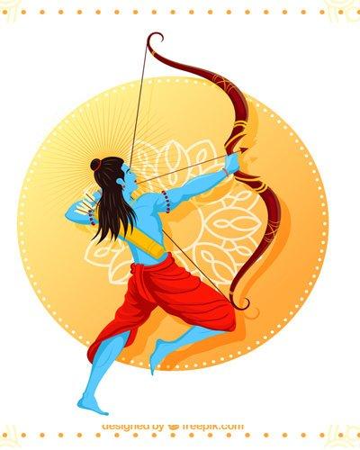 Solid Ram Bhagwan Teerandaji Karte Huye