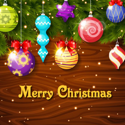 Merry Christmas Colourful Pic