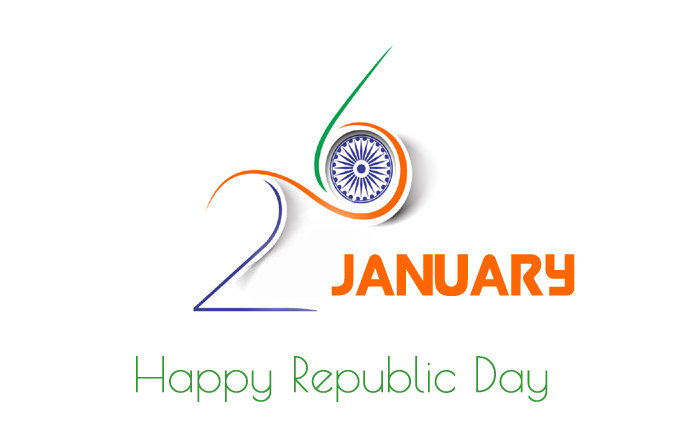 26th January Republic Day Simple Pic
