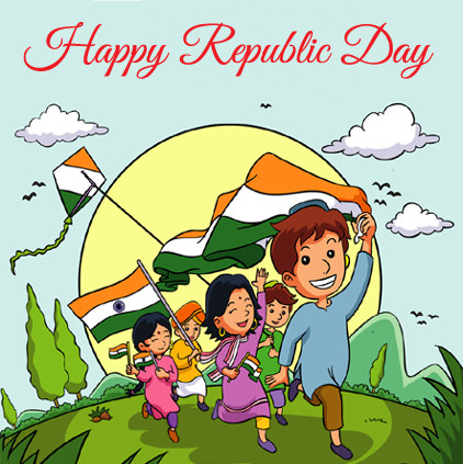 Happy Republic Day Greetings DP