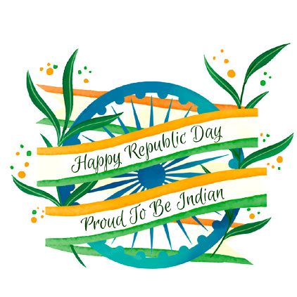 Happy Republic Day - Proud To Be Indian