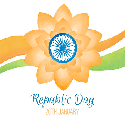 Lotus Image for Republic Day