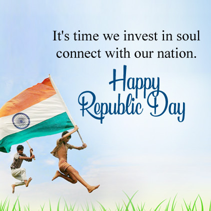 Patriotic Nation Msg for Republic Day