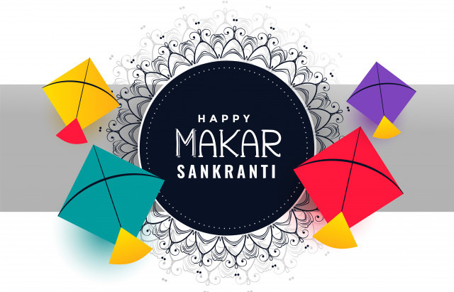 Sankranti Images with Kites