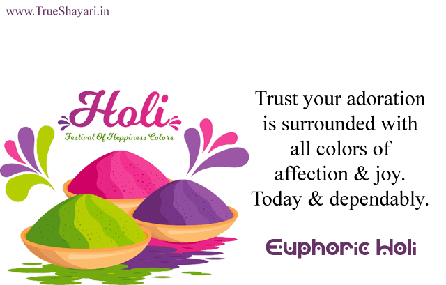 Euphoric Holi Quotes