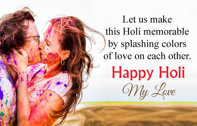 Romantic Holi Love Quotes