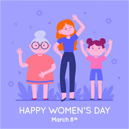 Cute Images for WOMEN's Day