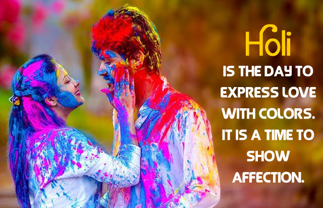 Holi Love Quotes Images