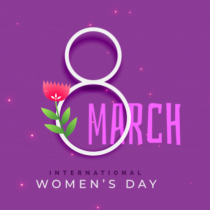 International March, 8th, Women's Day Wishes