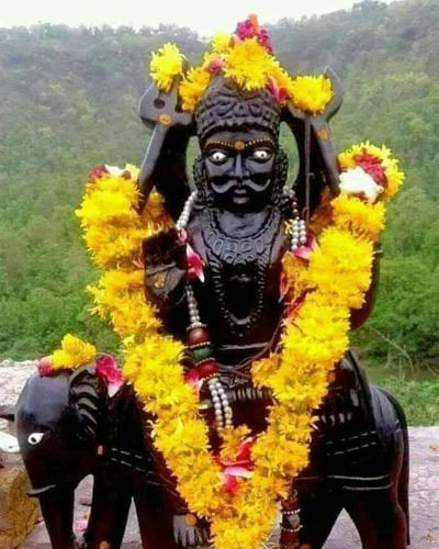 Shani Dev Murti Photo