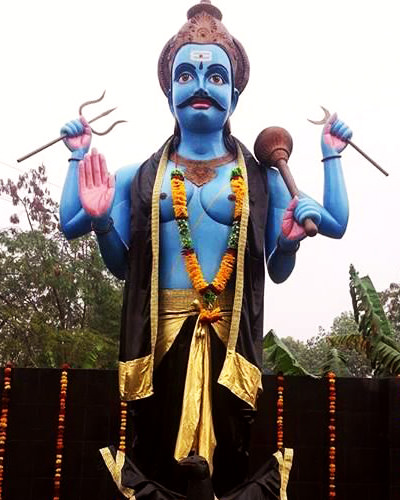 Shani Maharaj Badi Murti Photo