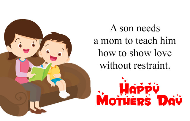 Mother Day Love Quote from Son