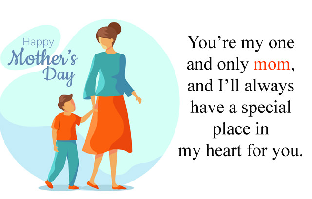 Mothers Day Wishes from Son