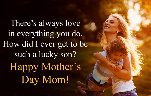 Son To Mother Quotes for Mother Day