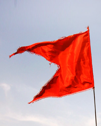 Bhagwa Color Flag Pictures for Hindu