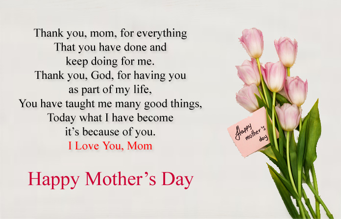 Thank You Quotes from Daughter to Mother