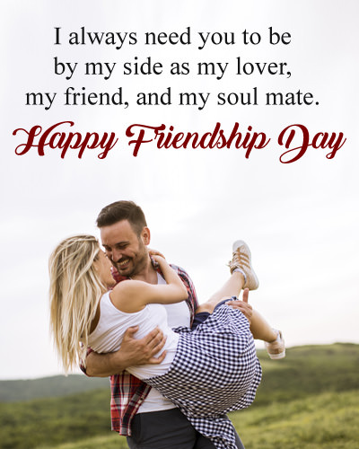 Best Love Quotes for Girlfriend on Friendship Day
