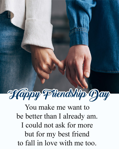 Fall in Love with Best Friend - Friendship Day Love Sayings