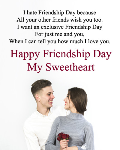 Friendship Day Love Quotes for Lover BF-GF