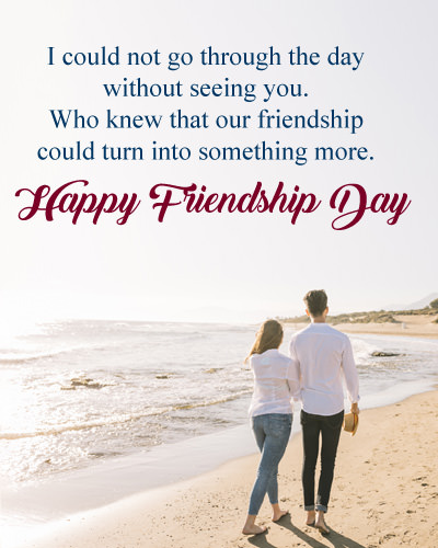 Friendship Day Love Quotes for Lover - Bf-GF