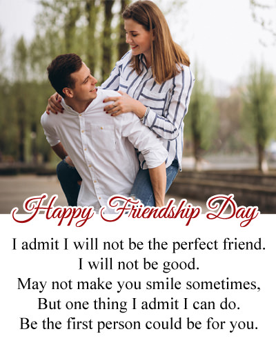 Friendship Day Messages for BF in English
