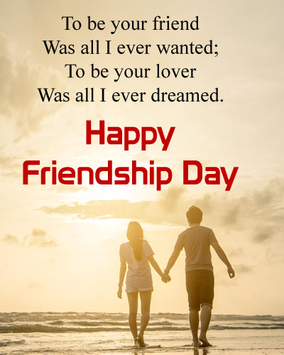 Happy Friendship Day Boyfriend