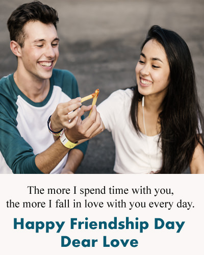 Happy Friendship Day Dear Love