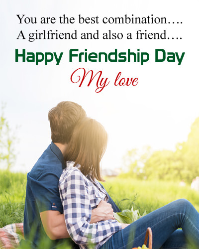 Happy Friendship Day Girlfriend