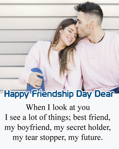 Happy Friendship Day To My BF