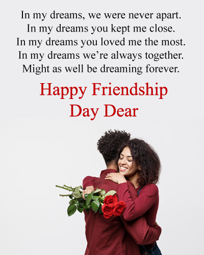 Happy Friendship Day Wishes for Boyfriend