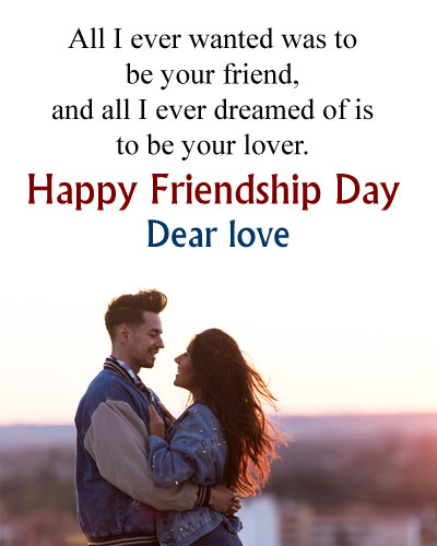 Happy Friendship Day Wishes for Girlfriend