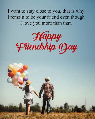 Love Thoughts on Friendship Day