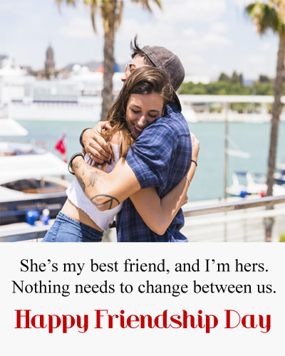 She is my best Friend Quotes for Girlfriend