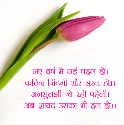 Best Lines in Hindi for New Year
