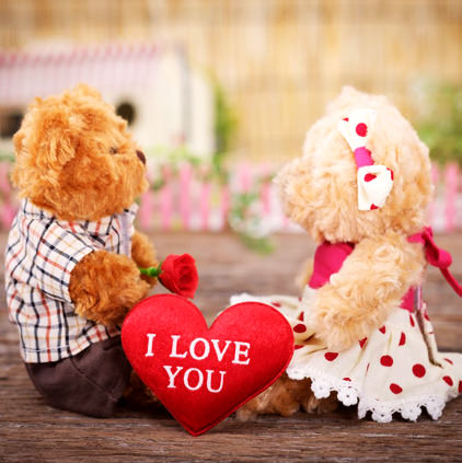 I Love You Teddy Bear DP