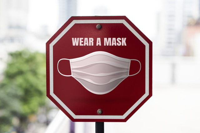 Wear a Mask Govt Action Due to Corona